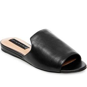 Steven by Steve Madden leather slides 8.5
